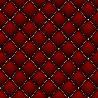 ソフトグロスのシームレスなキルティングパターン。