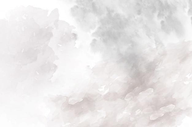 Мягкий серый абстрактный акварельный фон