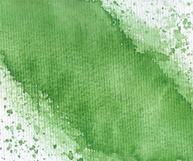 柔らかい緑の装飾的な水彩テクスチャ背景