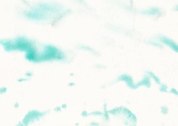 수채화 예술과 디자인에 의한 부드러운 녹색 획