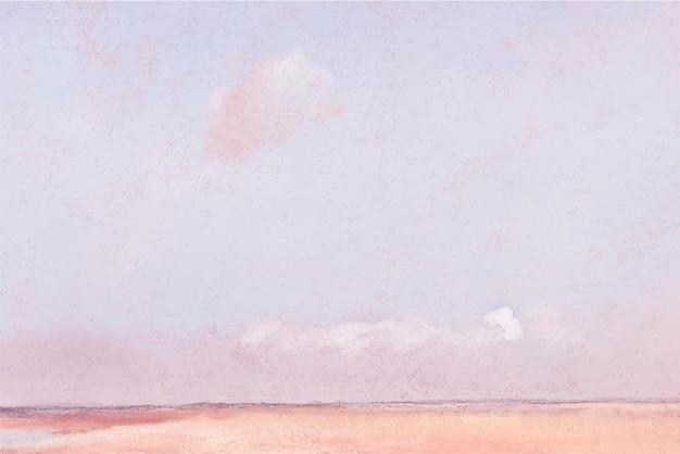 유명한 프랑스 예술가 edgar degas의 작품에서 리믹스된 부드러운 파스텔 질감 배경.