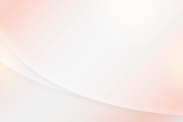 Soft pink abstract curved background