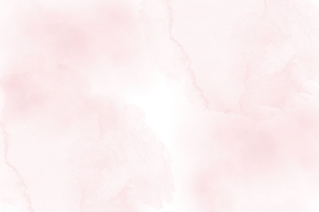 Soft pink abstract watercolor background