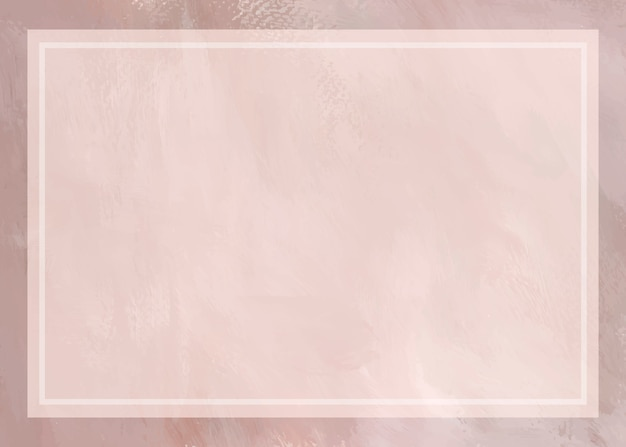 Soft pink painted frame background