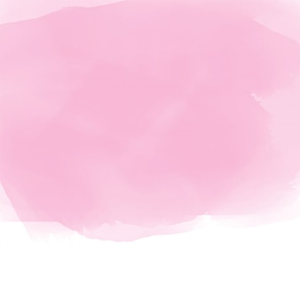 Soft pink watercolor effect background