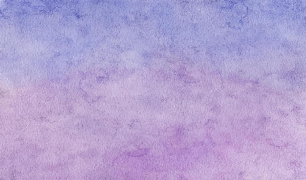 부드러운 보라색 추상 수채화 손으로 그린 배경