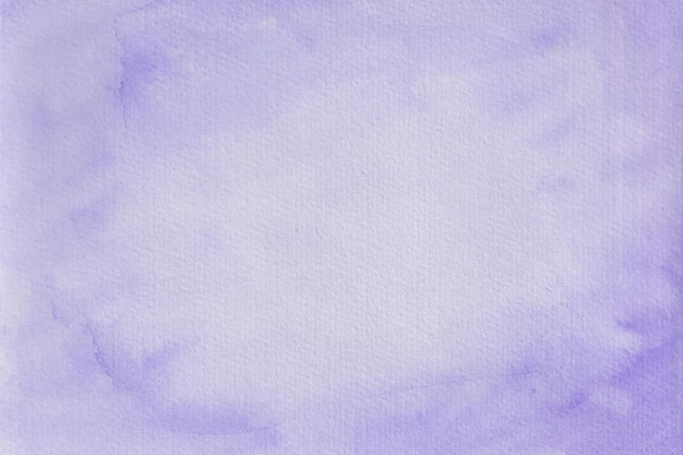 ソフトパープルパステル水彩背景