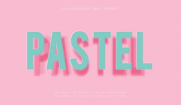 부드럽고 사실적인 그림자 텍스트 스타일 글꼴 효과