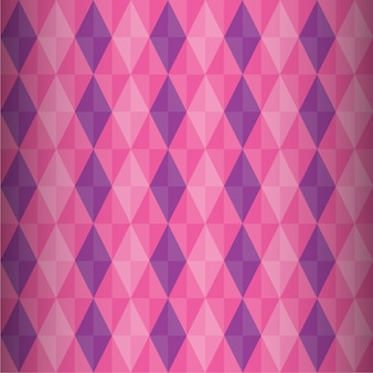 Soft seamless pattern with triangles