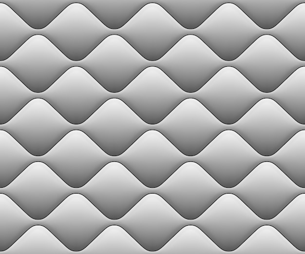 Soft seamless pattern with waves in white. close-up view. and also includes