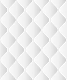 Мягкие бесшовные rattern с волнами в белом. крупным планом а также включает в себя