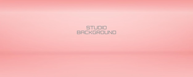 Soft and smooth pink showroom backdrop and studio background for present product