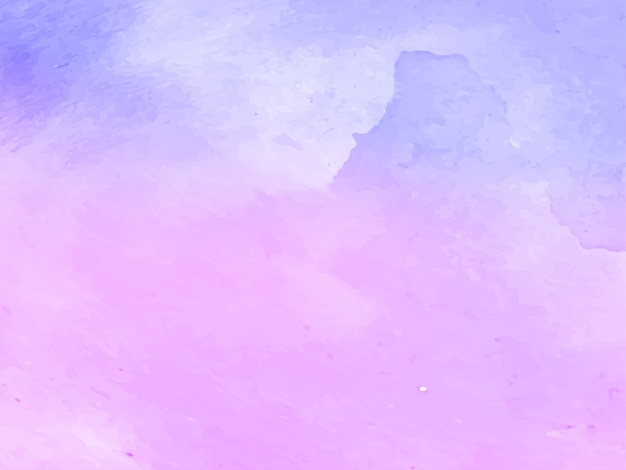 Soft violet watercolor texture design vector