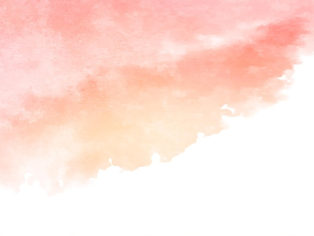 Soft watercolor design stylish texture