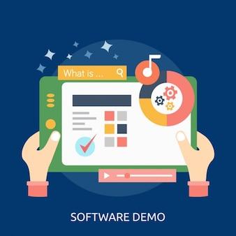Software background design