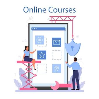 Software developer online service or platform.