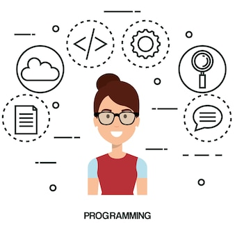 Software language programmer avatar