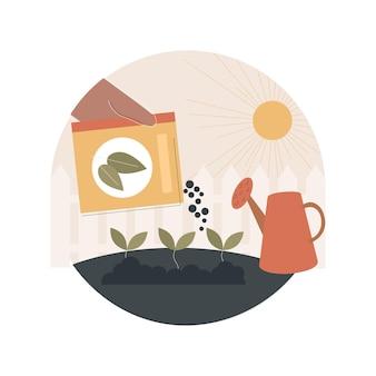 Иллюстрация плодородия почвы