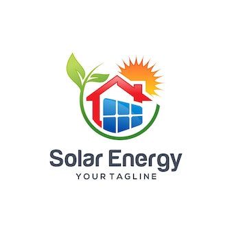 태양 에너지 로고
