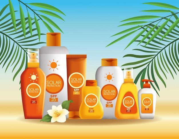 여름용 태양열 보호 병 제품