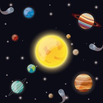 태양계 태양 행성 소행성 별