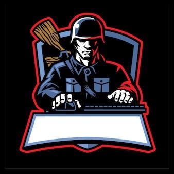 Soldier esport mascot