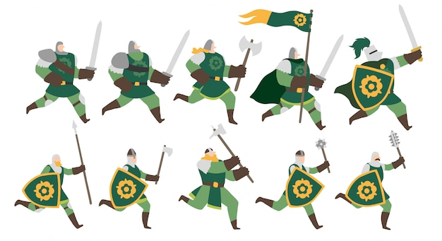 Soldiers of the flower army set