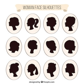 Женщины руководитель solhouettes