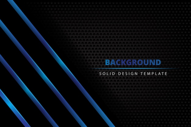 Solid metal blue dark background
