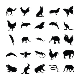 動物の固体絵文字