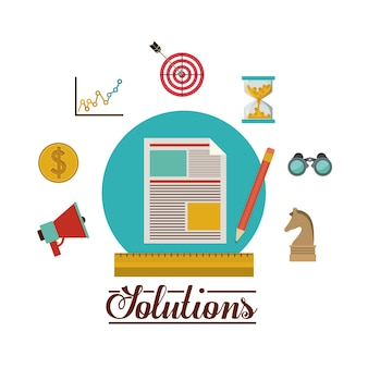 Solution icons design