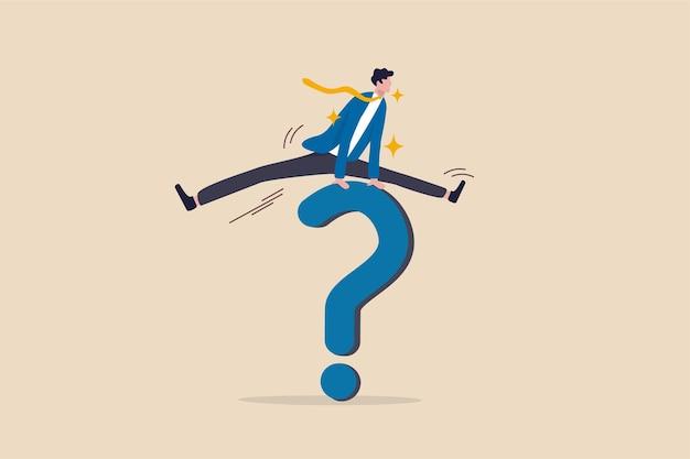 비즈니스 문제를 해결하는 솔루션, 어려운 질문에 대한 답변.