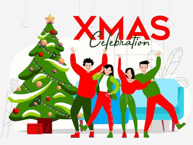 一部のティーンエイジャーはクリスマスを祝います