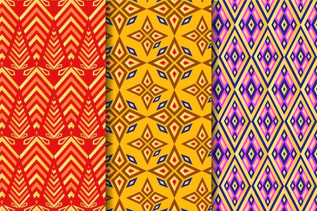 Songket pattern collection