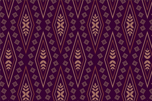 Songket pattern ornament