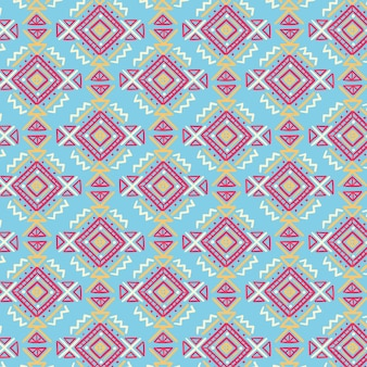 Songket pattern with drawn shapes