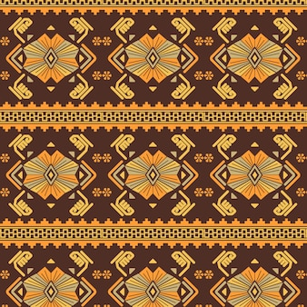 Songket traditional pattern