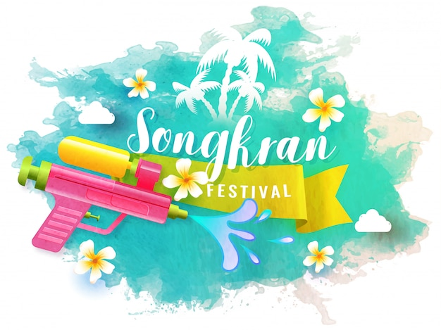 Songkran festival celebration.