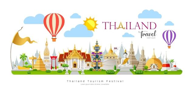 Фестиваль сонгкран таиланда баннер