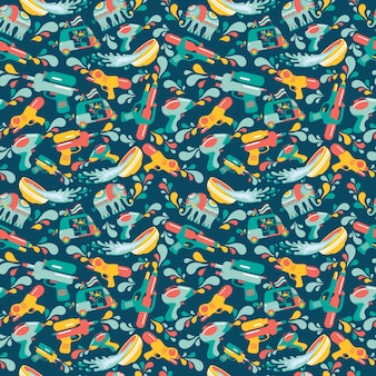 Songkran pattern