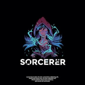 Sorcerer logo template