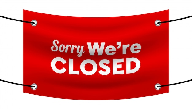 Sorry we'e closed background template.