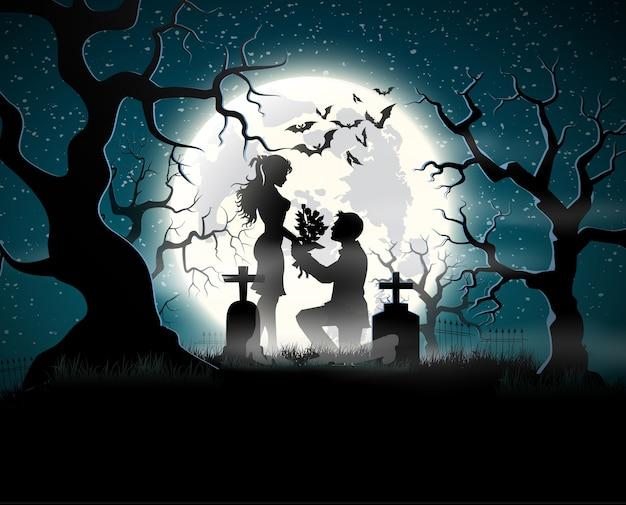 月光の魂の愛好家。