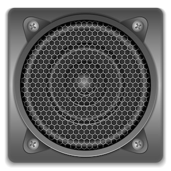 Sound speaker icon, illustration