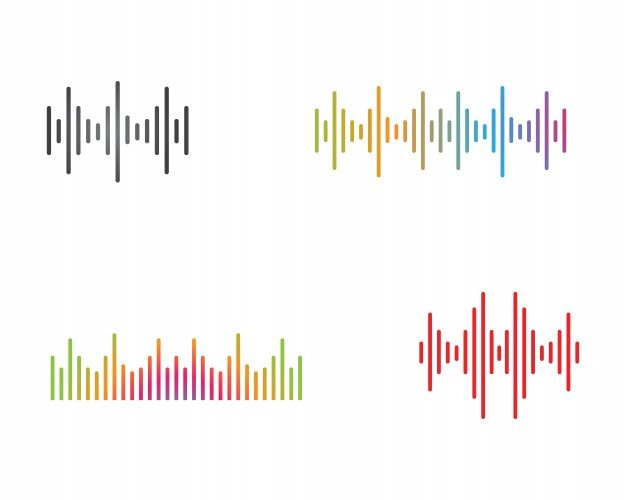 Sound wave illustration