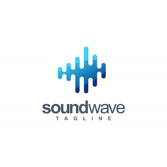 Sound wave logo