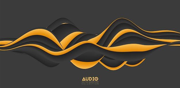 Sound wave visualization