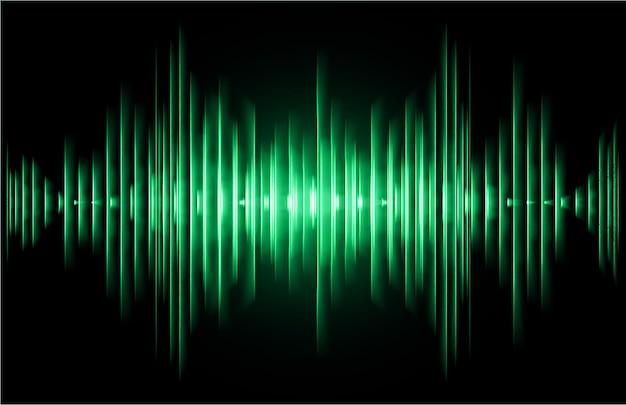 暗い光を振動させる音波