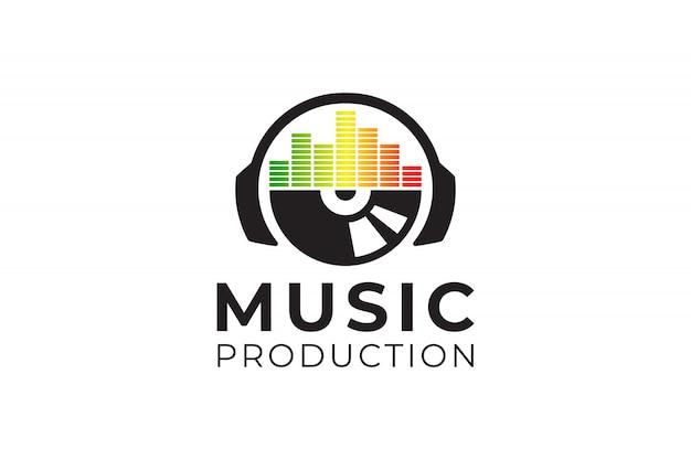 Логотип soundwave вдохновение