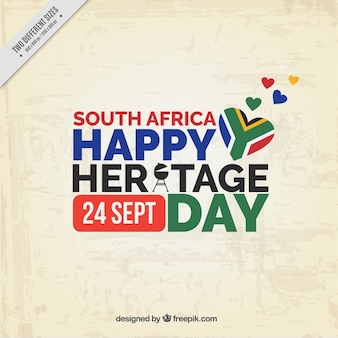 South africa heritage background